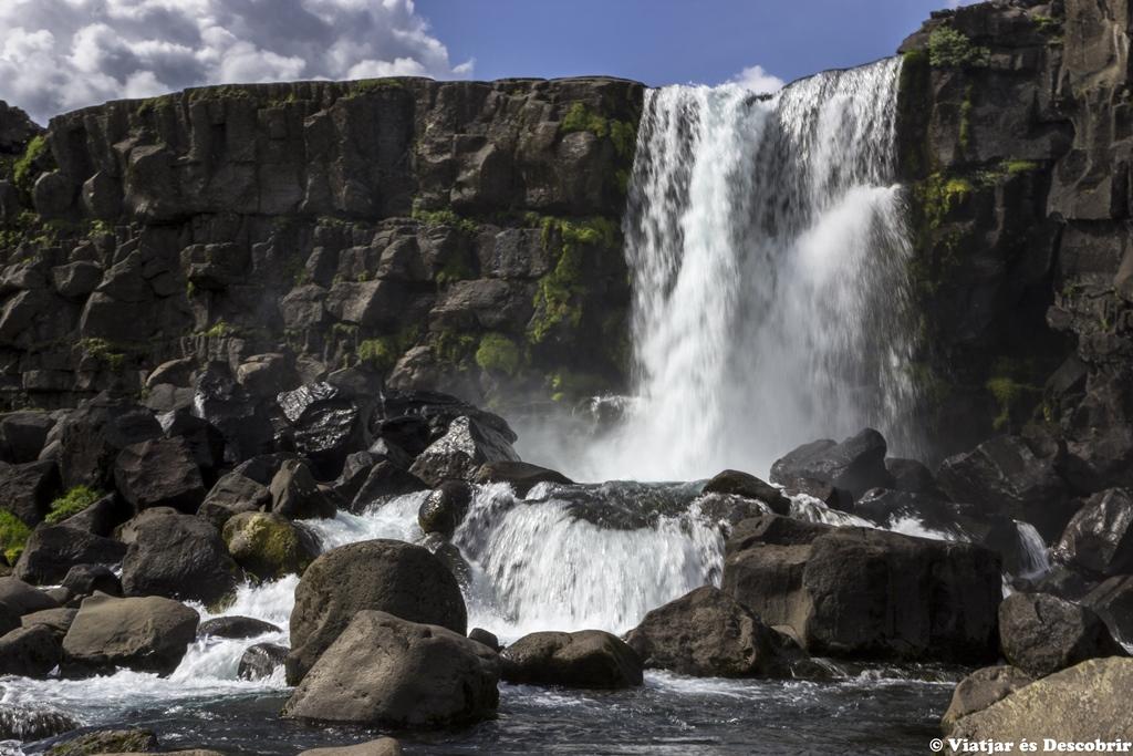 cascada Öxarárfoss