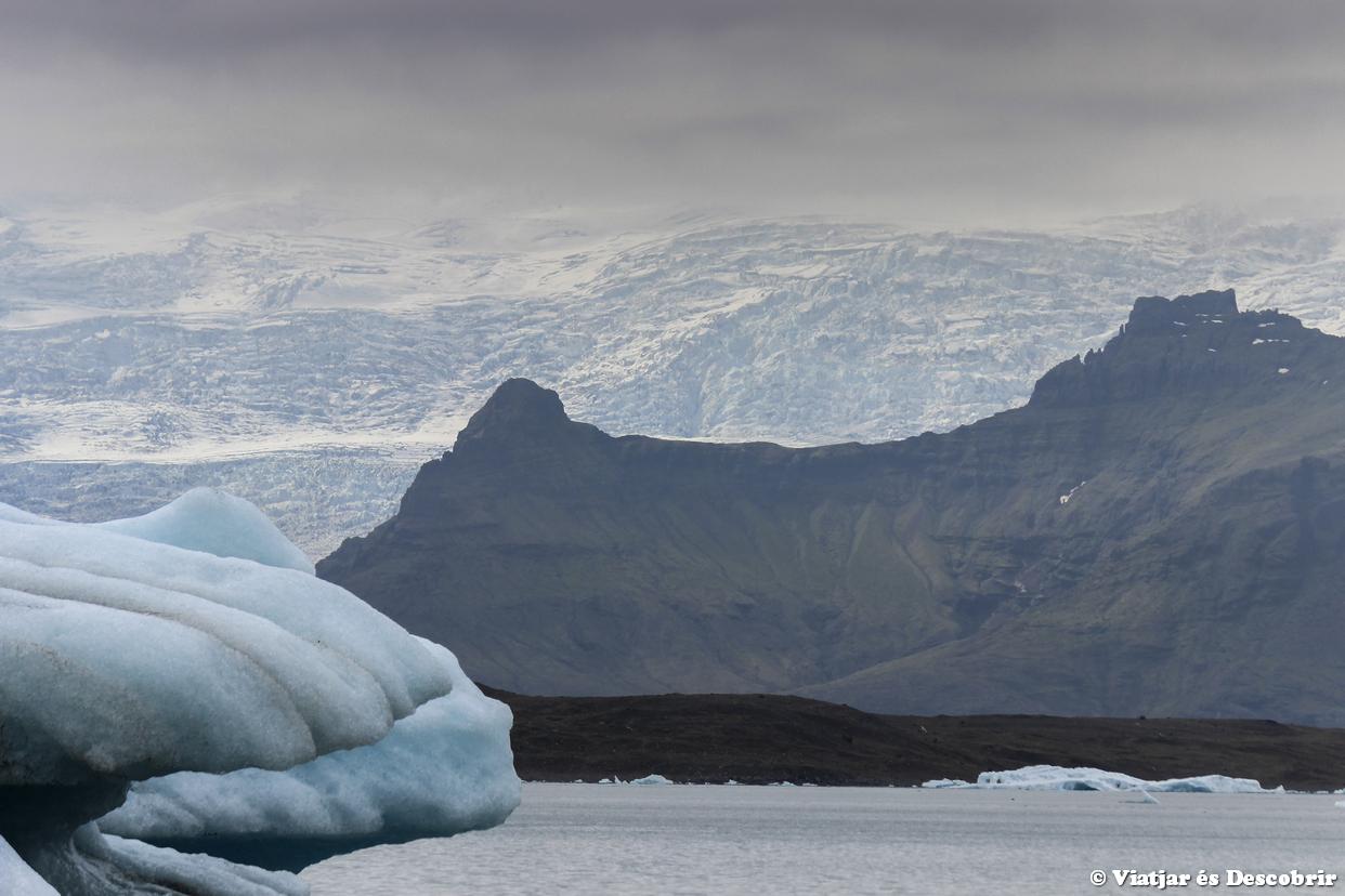 Los glaciares de Islandia y el Lago Jokulsarlon