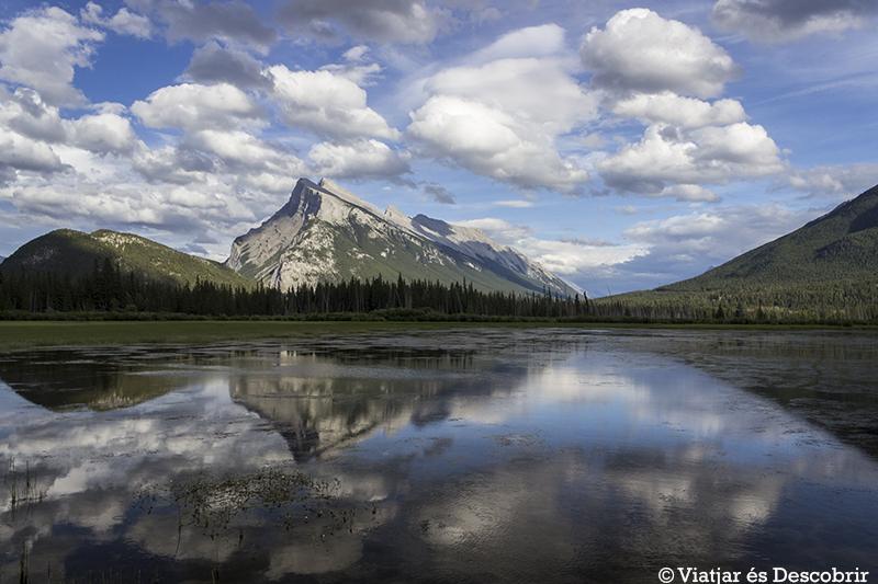 El pueblo de Banff y su fantástico entorno