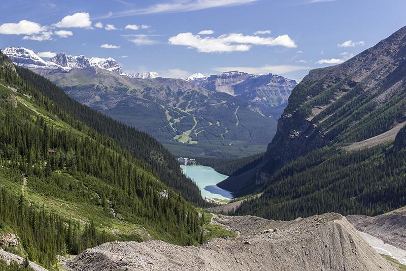 Excursión en el Lago Louise de Banff