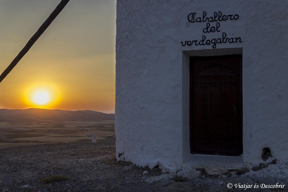puesta de sol molinos consuegra