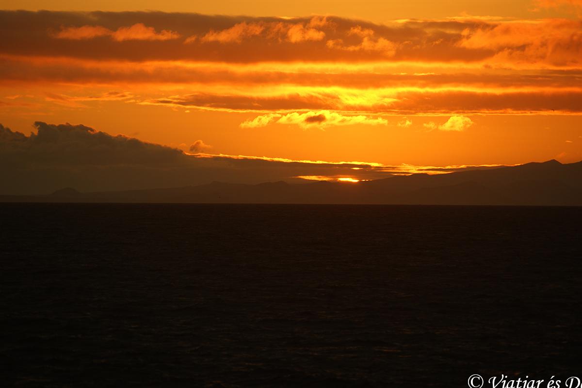 Galàpagos puesta de sol