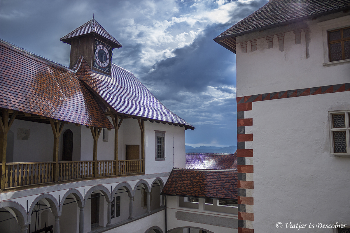 interior del castillo cerca de Zagreb