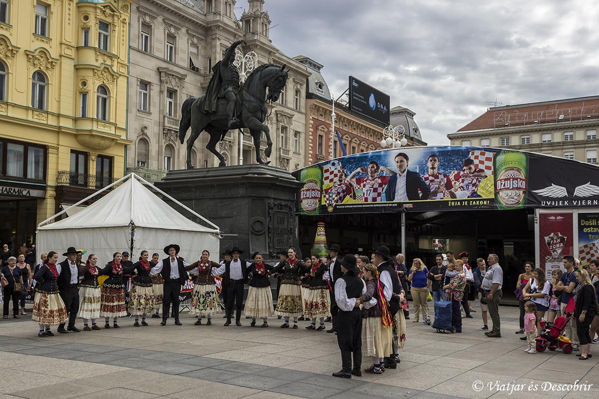 Zagreb plaza Ban Jelačić