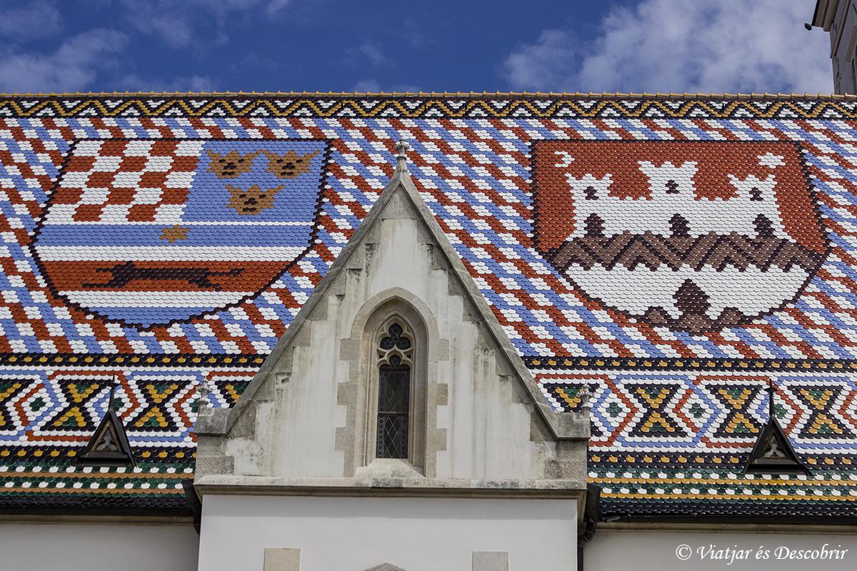Zagreb. Iglesia de Sant Marcos