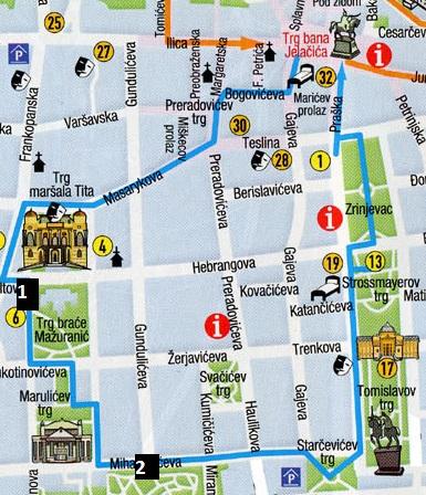 Mapa de la Ciudad Baja