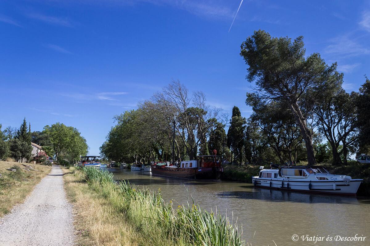 Francia bicicleta el canal du midi