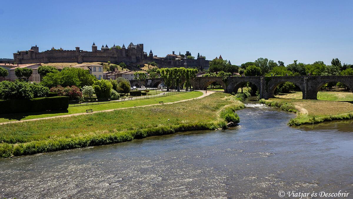 ciudadela medieval de Carcassone