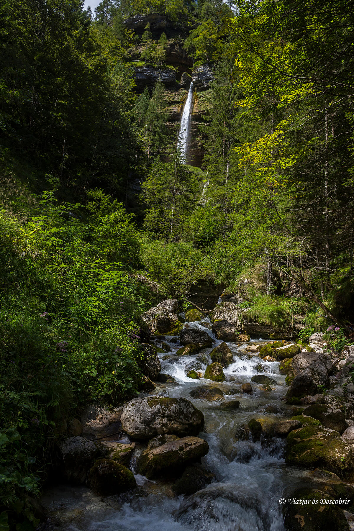 cascada Pericnik es una de las mejores cascadas de eslovenia