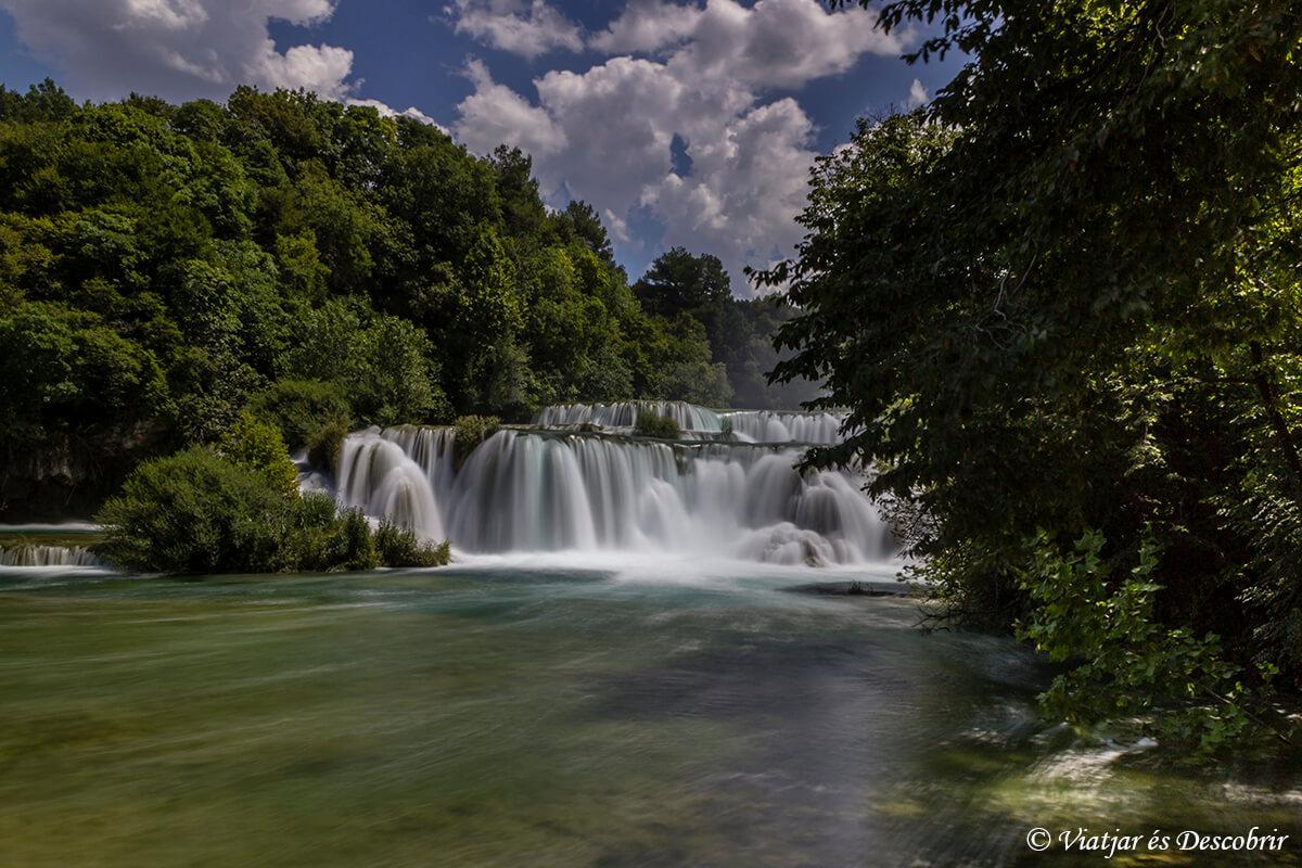 cascada del Krka National Park