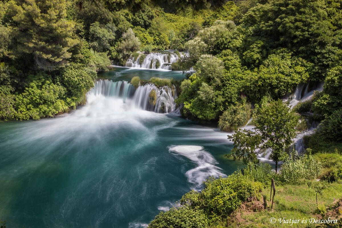 El Parque Nacional Krka y las ciudades de la costa dálmata