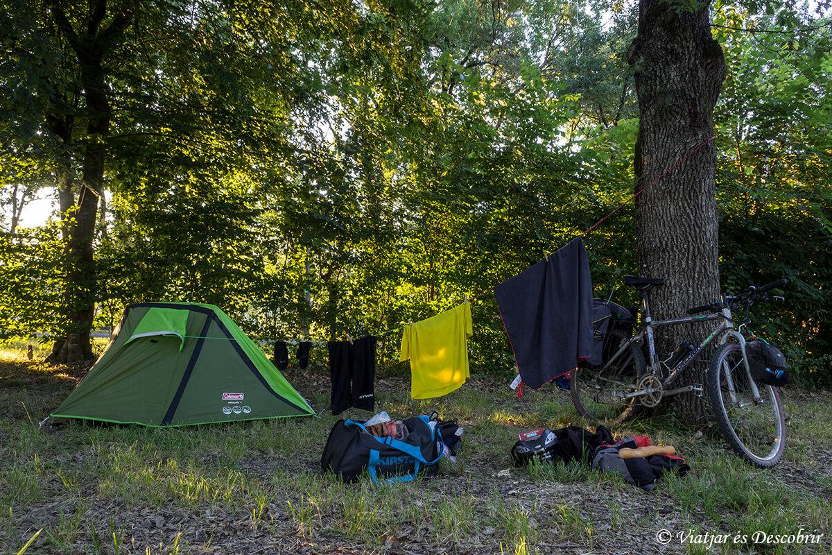 camping damazan canal garona