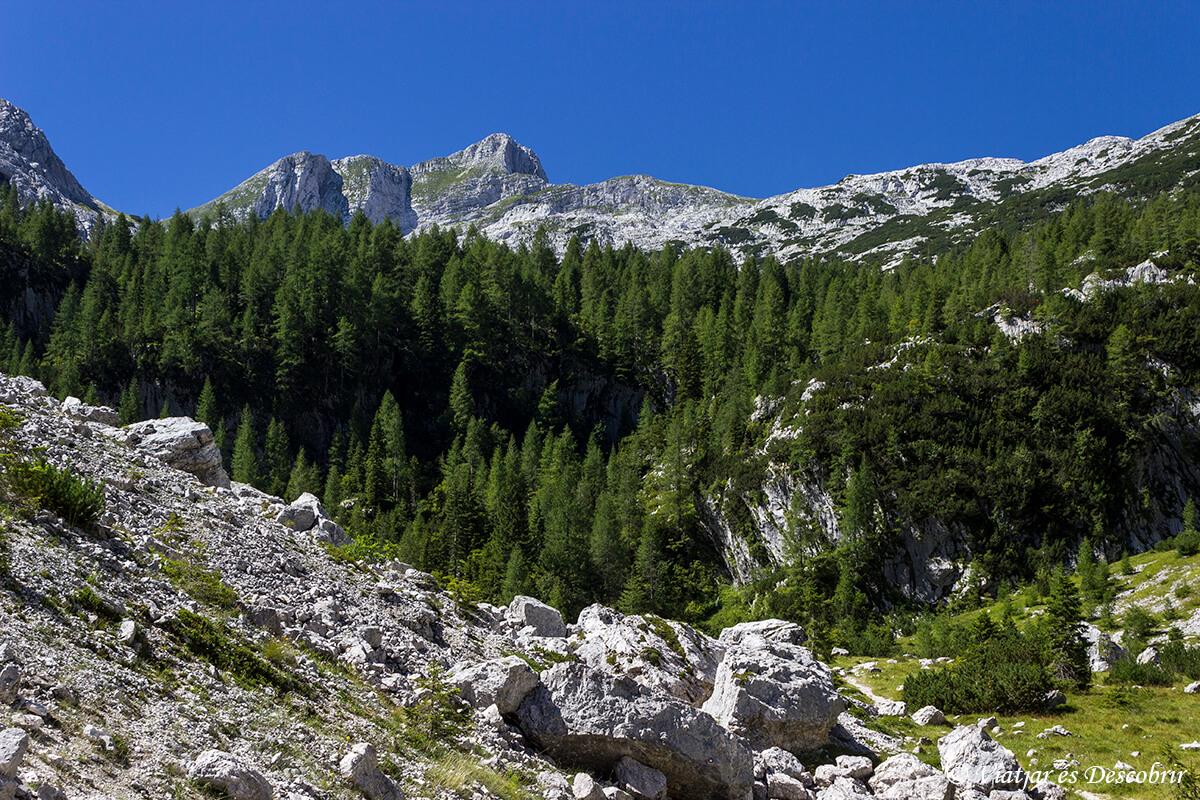 paisajes de les excuriones al triglav cerca de tolmin