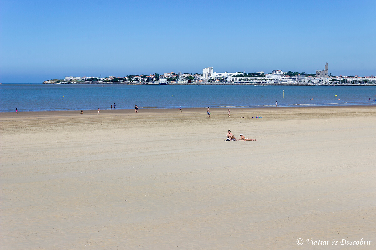 playa de royan en el atlantico
