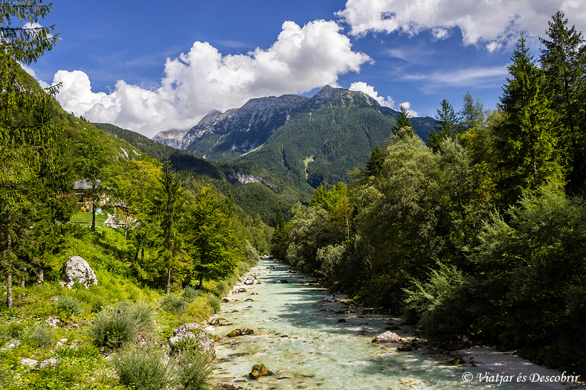 El Valle del río Soča: excursiones entre cascadas y montañas