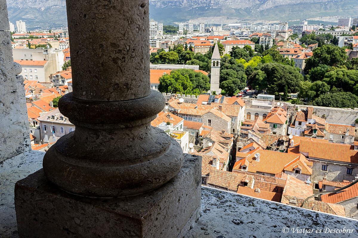 vista panoramica desde la catedral de split