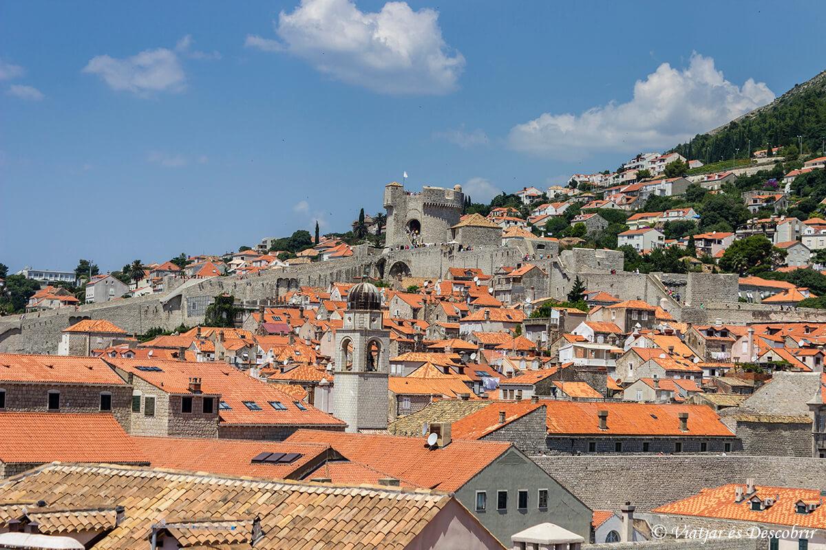 casco antiguo de la ciudad de dubrovnik en croacia