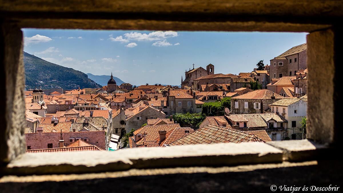 panoramica de los tejados que ver en dubrovnik