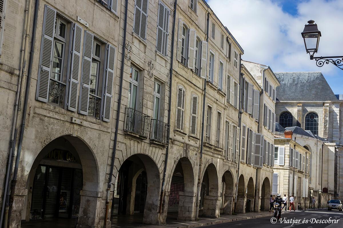 calles de la ciudad de la rochelle