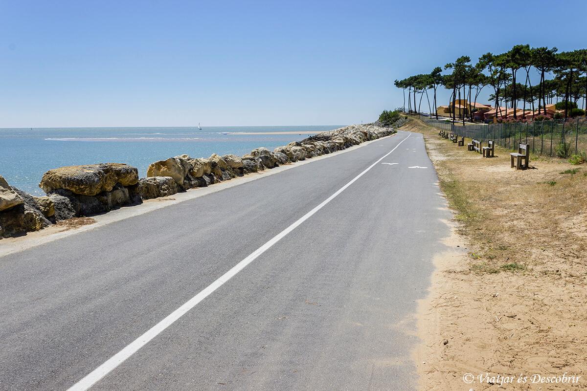 playa de la palmyre en la velodyssee