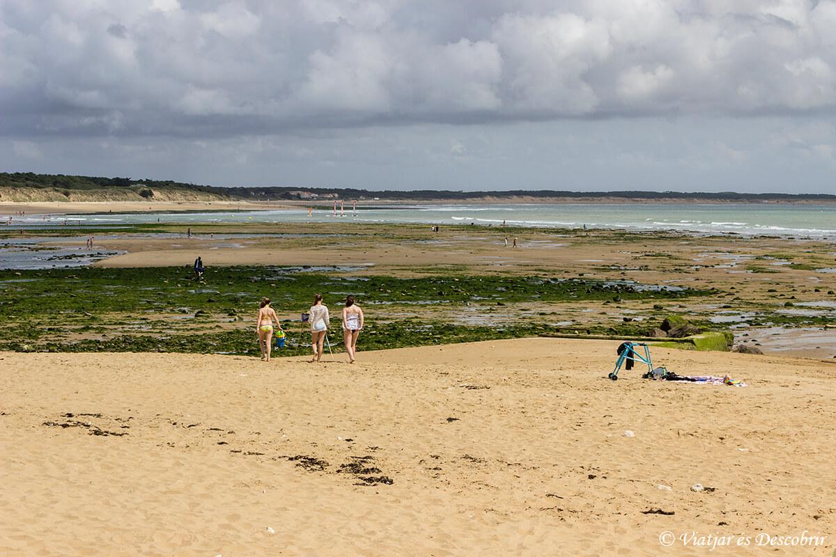 playas atlanticas en la velodyssee