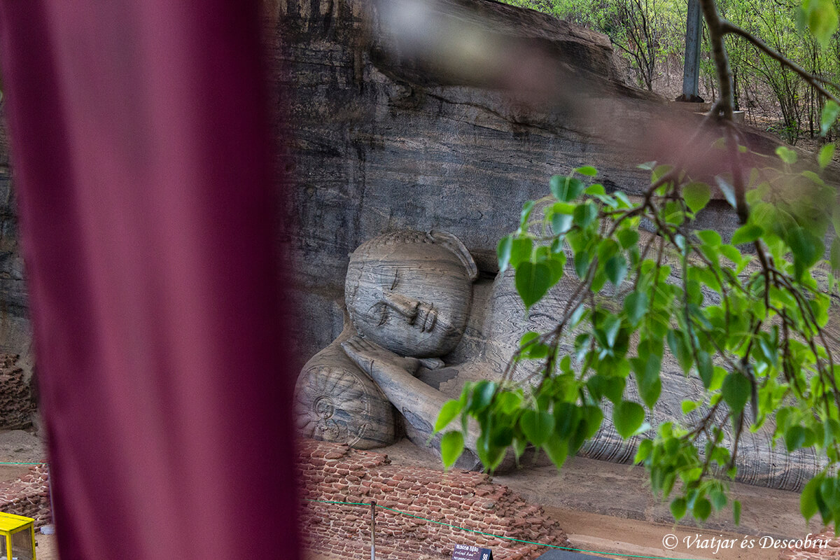 escultura de buda en polonnaruwa