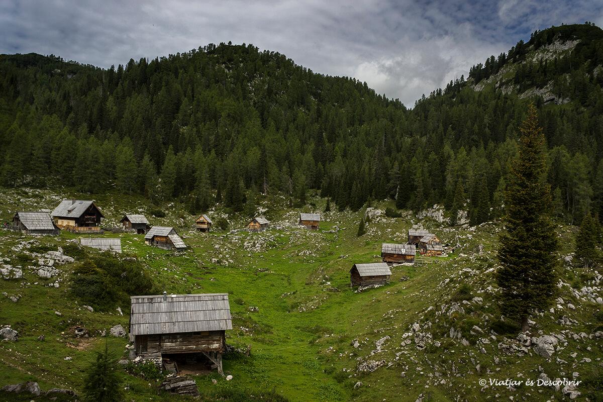 sendersimo en eslovenia en el parque nacional triglav