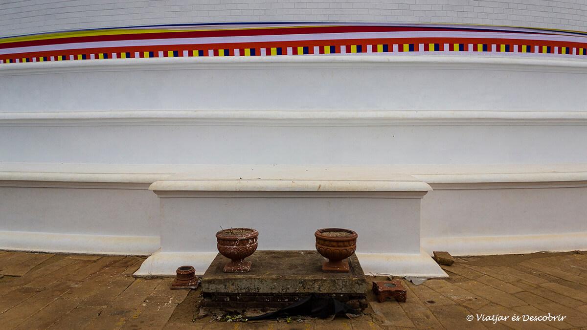 punto sagrado del budismo de sri lanka en mihintale