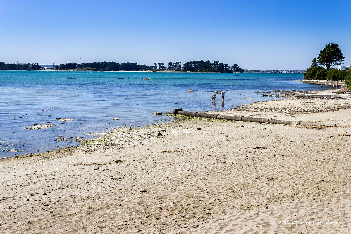 playas del oceano atlantico en la bretaña francesa en bicicleta