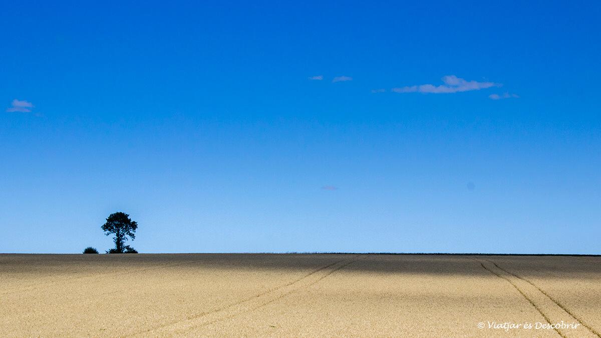 solitud recorriendo la bretaña francesa en bicicleta