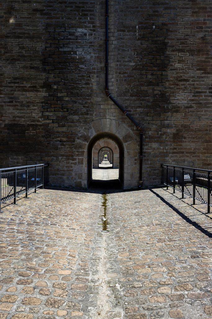viaducto de morlaix en la bretaña francesa