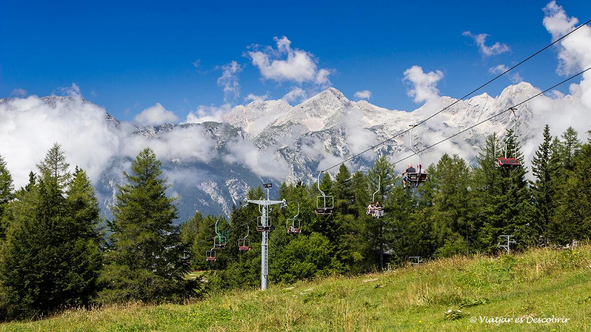 teleferico hasta velika planina