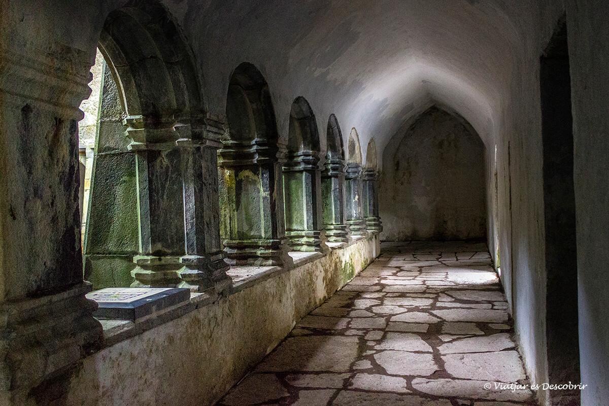 abadía medieval en Killarney