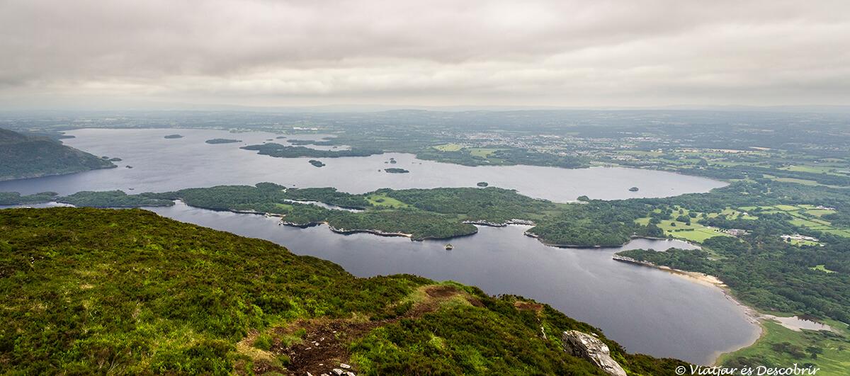 panoramica de los lagos de killarney