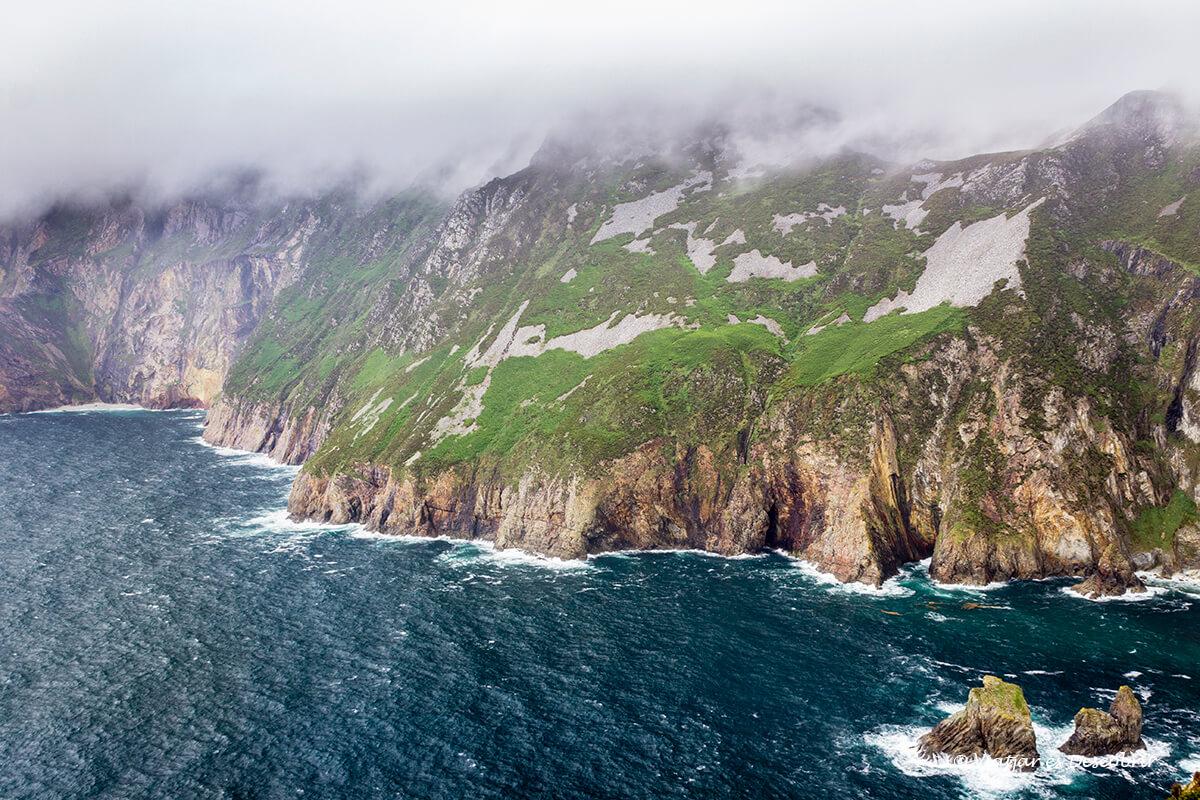 acantilados slieve liegue en irlanda