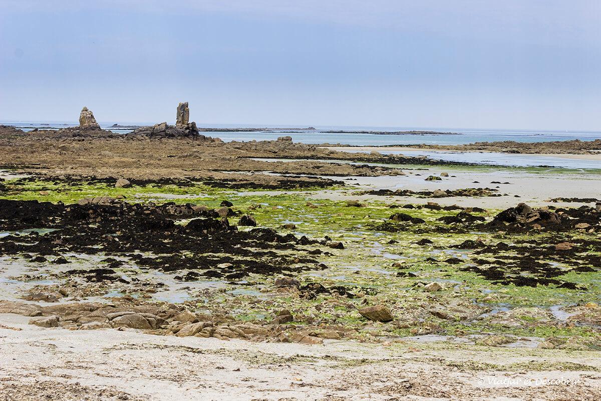 zona protegida de Keremma en el norte de la bretaña francesa