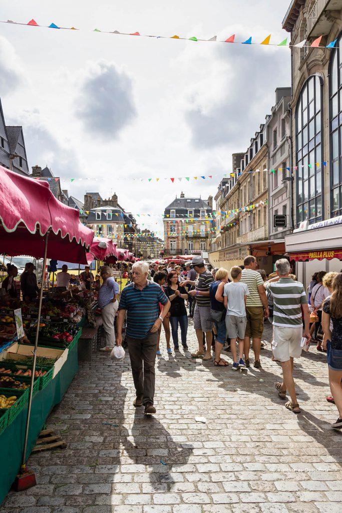 mercado en Lannion