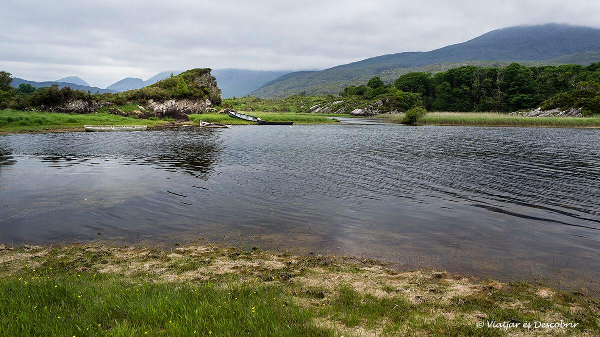 paisajes del parque nacional killarney lleno de lagos