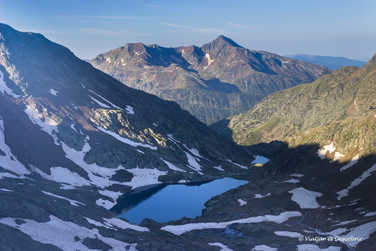 paisajes de montaña durante la ascension a la pica d'estats