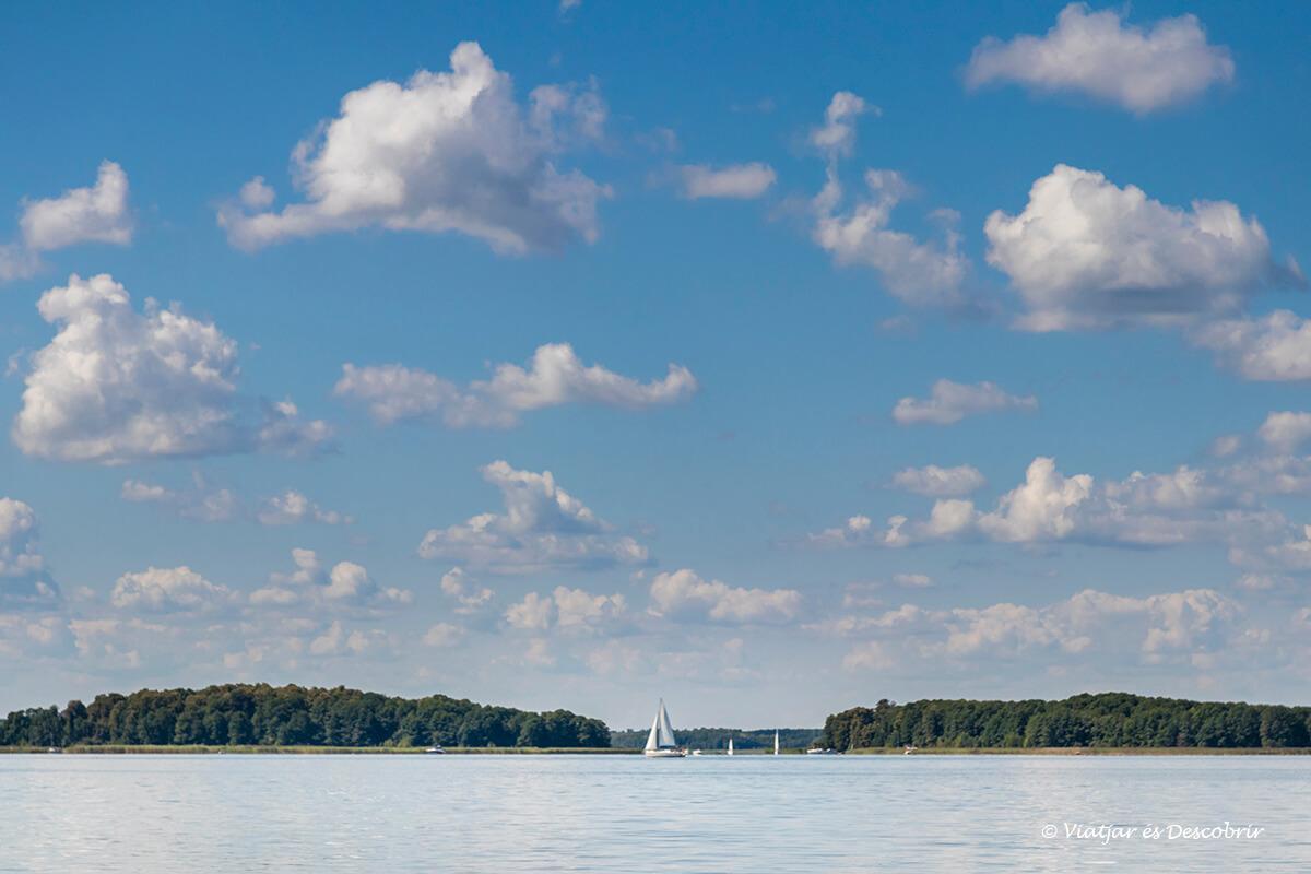 regio de los lagos en Polonia