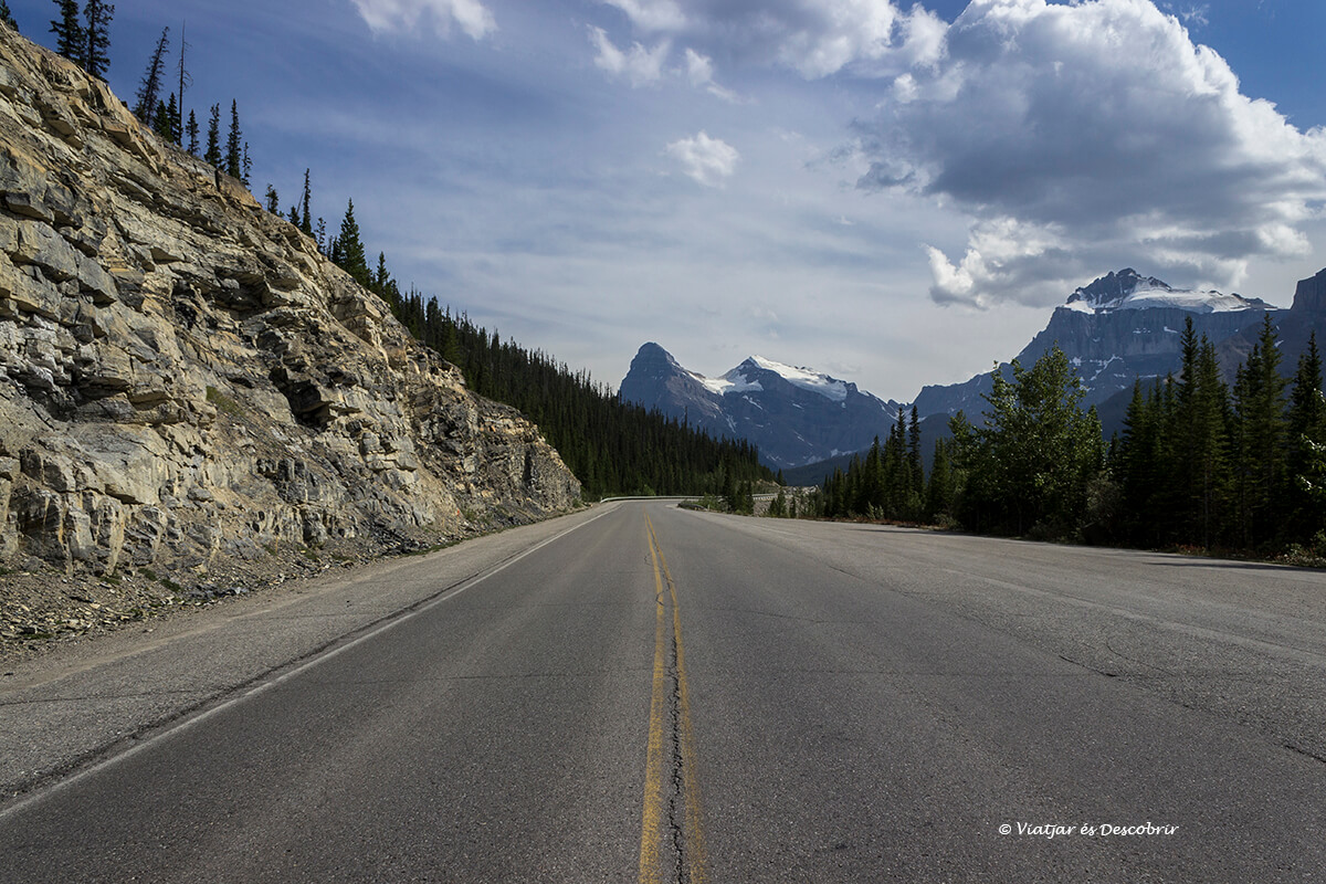 carretera de la icefield parkway