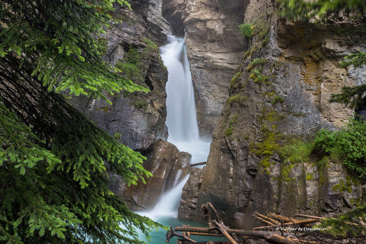 cascadas del parque nacional banff