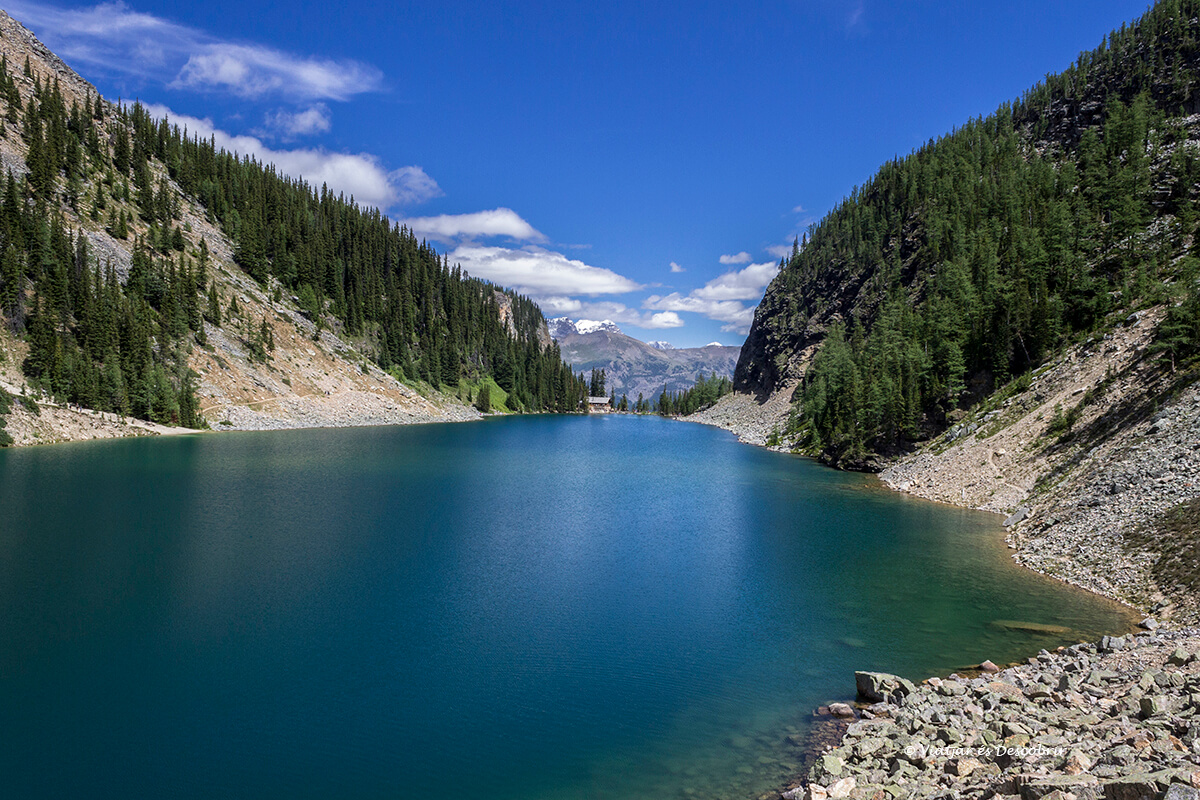 lake agnes en una excursion des del lake louise en banff