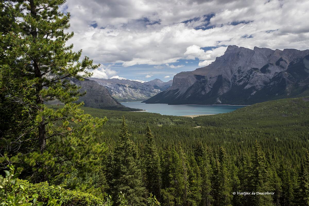 que ver en el parque nacional banff vista panoramica
