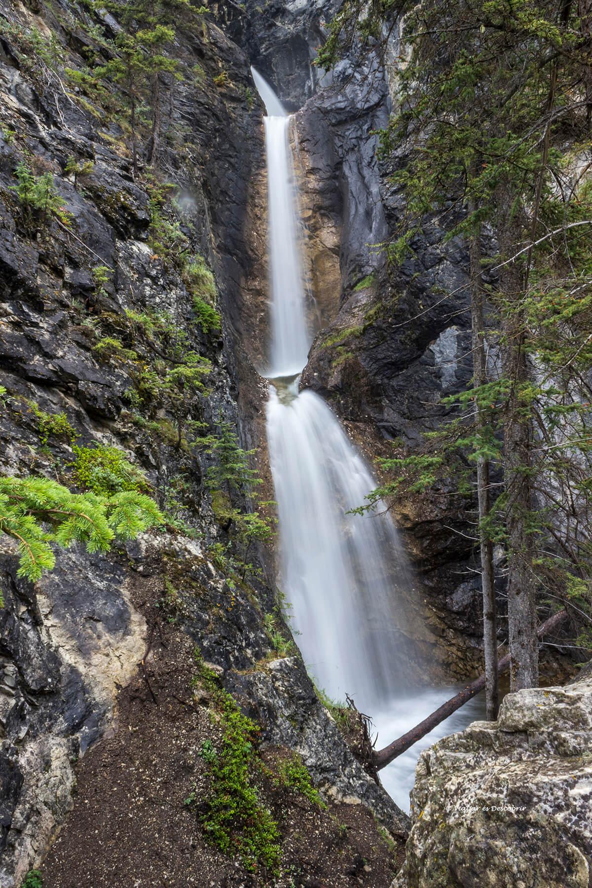 cascadas silverton que ver en banff en verano