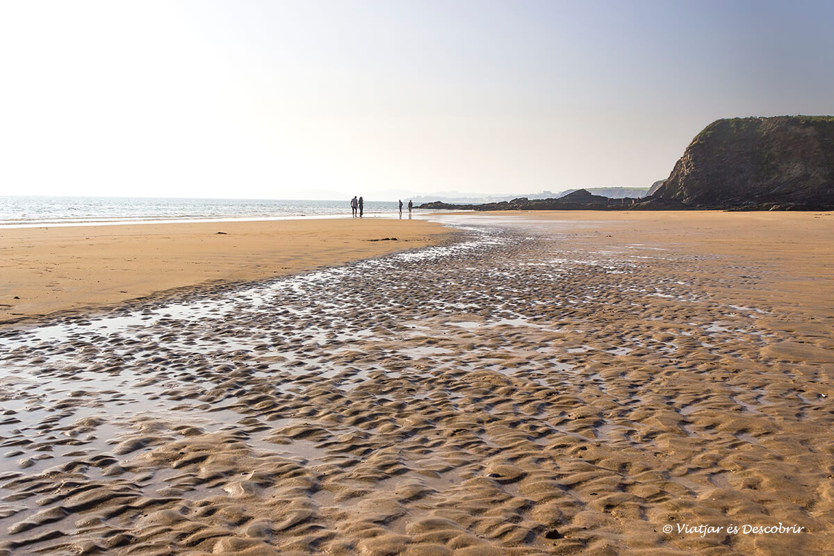 playa en la peninsula de hook