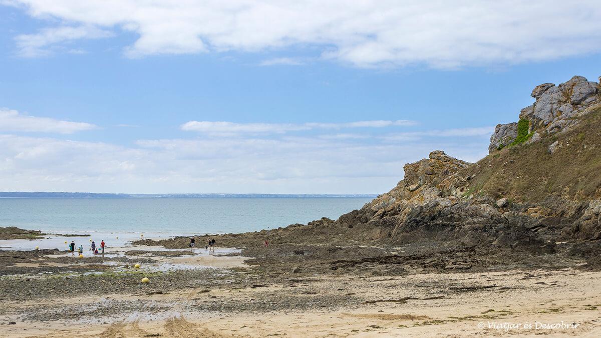 playa bretaña francesa