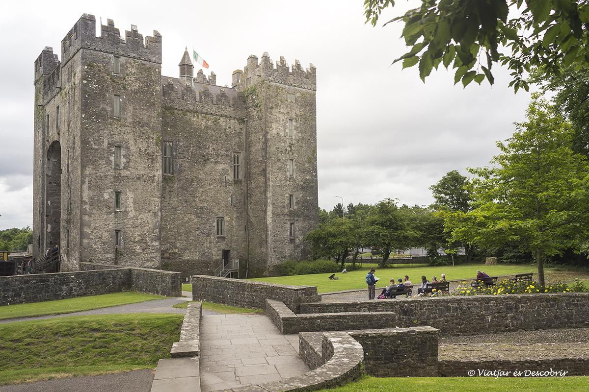 Castillo de Bunratty en irlanda