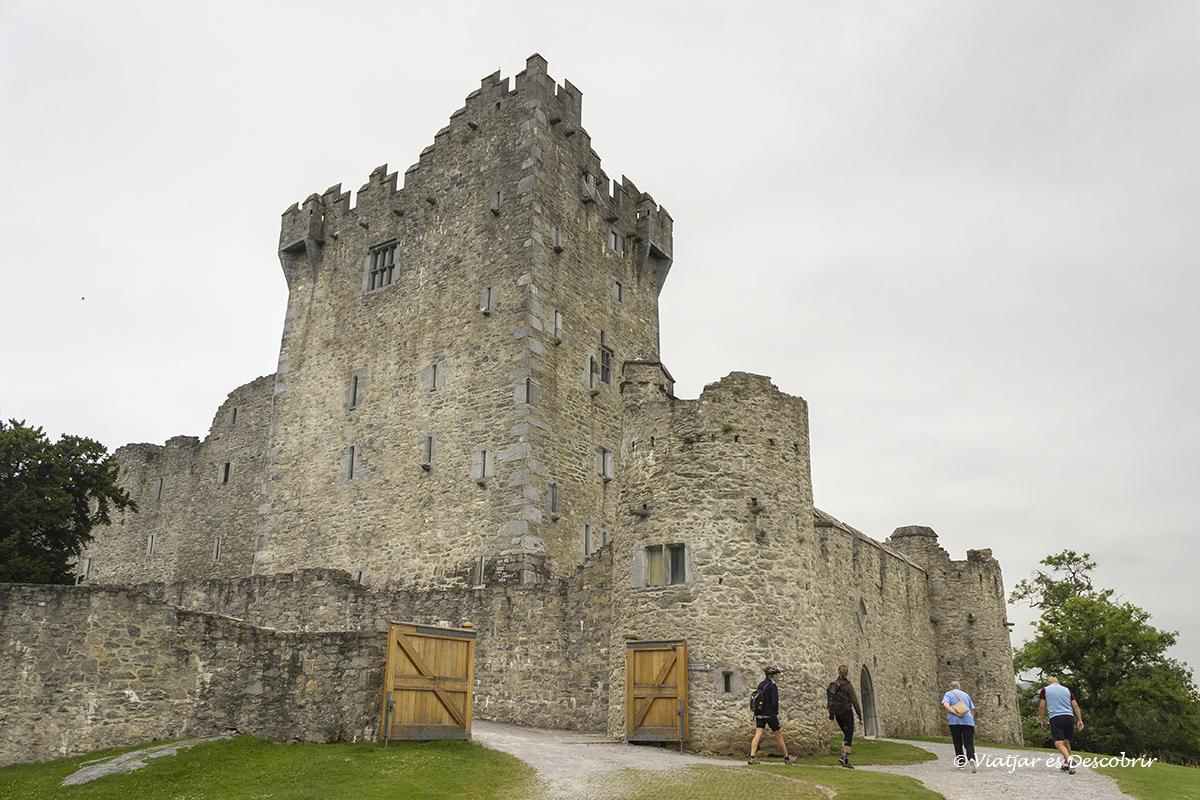 Castillo de McCarthy es uno de los más famosos de Irlanda