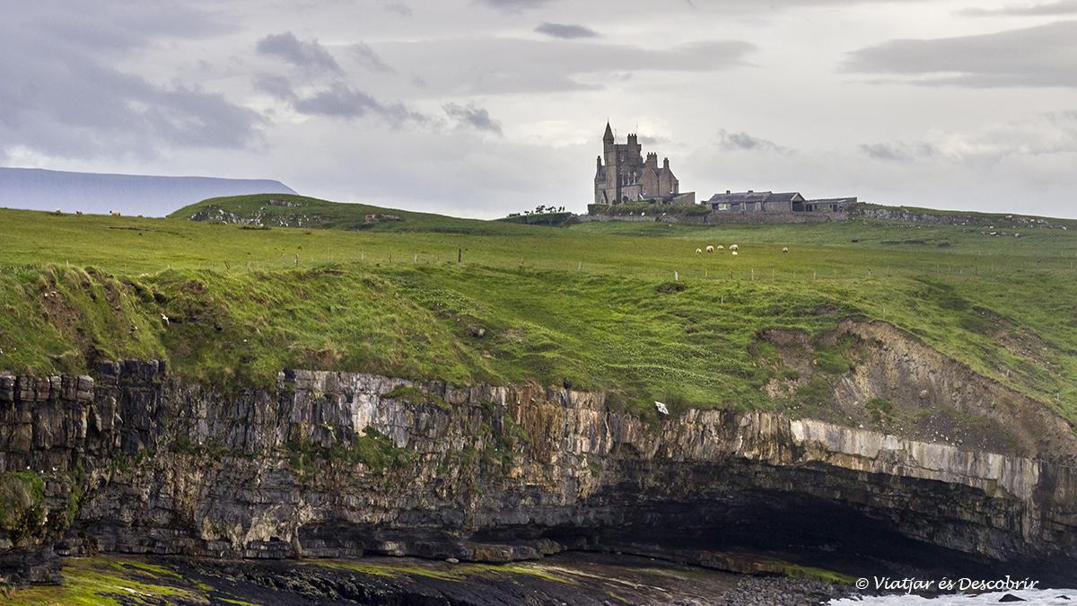 Castillo de Classiebawn al norte de irlanda
